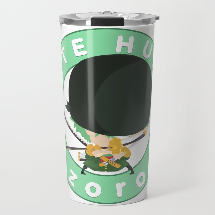 One Piece - Pirate Hunter Zoro (My Syle) Travel Mug