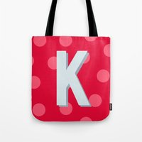 K is for Kindness Tote Bag