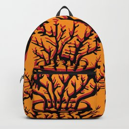 fire coral Backpack