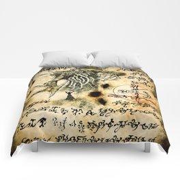 Cthulhu Rises Comforters