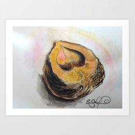Walnut Art Print