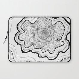 Tree Rings Laptop Sleeve