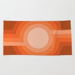 Moonspot - Red Rock Beach Towel