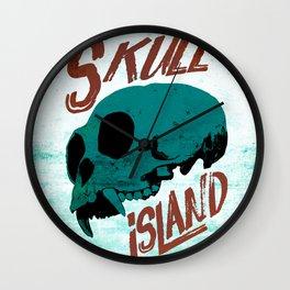 Skull Island Wall Clock