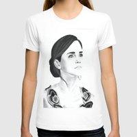 emma watson T-shirts featuring Emma Watson by Moira Sweeney