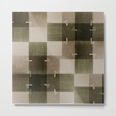 random pattern Metal Print