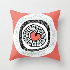 Loveburst Throw Pillow