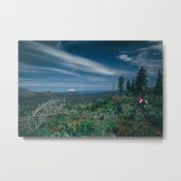 Mt Shasta view Metal Print