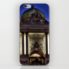 Viennese night iPhone Skin