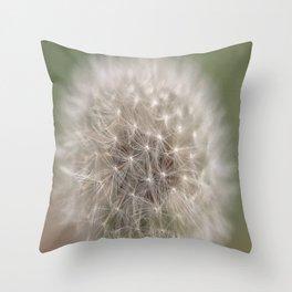 Lion's Tooth (Macro) Throw Pillow