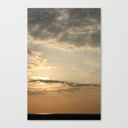 Hoylake Sunset Canvas Print