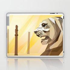 persepolis lion Laptop & iPad Skin