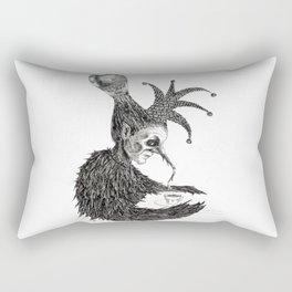 Thoughts Far Away Rectangular Pillow