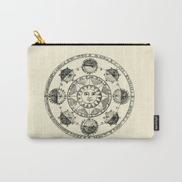 Horoscope Astral Wheel Carry-All Pouch