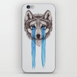 Don't Cry Wolf iPhone Skin