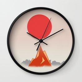 Himalayan zen Wall Clock
