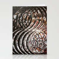 glass Stationery Cards featuring Glass by KunstFabrik_StaticMovement Manu Jobst