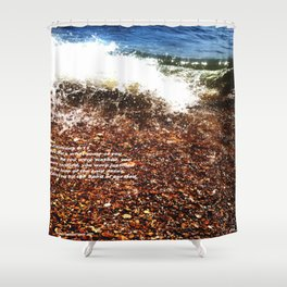 Baptism 2 by Saribelle Rodriguez Shower Curtain
