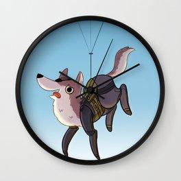 i got your back,big boss! Wall Clock