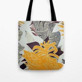 Urban Tropical Tote Bag