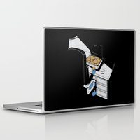 gangster Laptop & iPad Skins featuring Cookie Gangster by Piopio