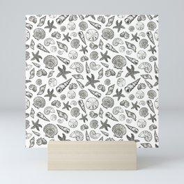 Seashell Print Mini Art Print