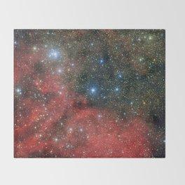 Star Cluster NGC 6604 Throw Blanket