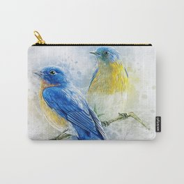 Kissing Birds Carry-All Pouch