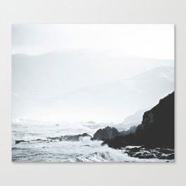 Sea Waves Seascape, Ocean Waves Photography, Sea Coast, Sea Beach Tapestry, Pillow etc Canvas Print