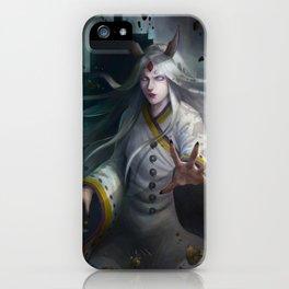 Kaguya, Rabbit Goddess iPhone Case