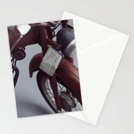 Fine art photography, old motorcycle, still life, vintage motorbike, Italy, mancave Stationery Cards