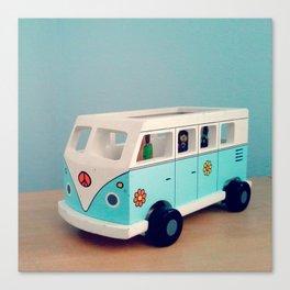 Toy Hippie Van Canvas Print