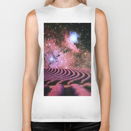 Cool Purple Mist Biker Tank