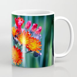 Fire Colors in the Greenery Coffee Mug