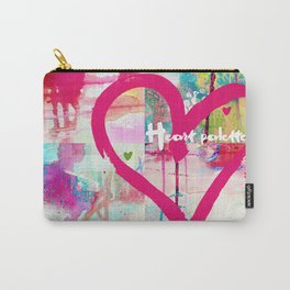 Heart palette Carry-All Pouch