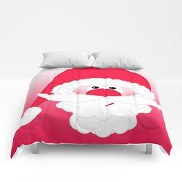 Santa Claus Collage CB Comforters