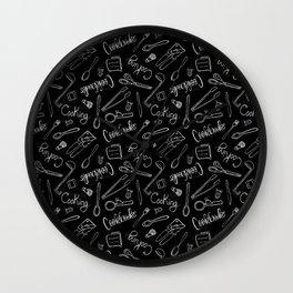 Cooking Utensils Wall Clock