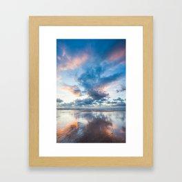 Colorful sunset 2 Framed Art Print