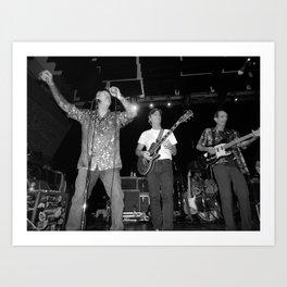 The Nighthawks & Skip Castro band Art Print