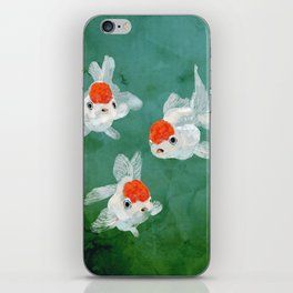 3 Goldfish iPhone Skin