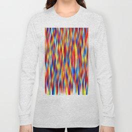 vertical primaries Long Sleeve T-shirt