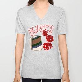 Bunco Brunch Unisex V-Neck