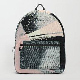 Blushing Black Backpack