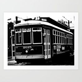 Classic Street Car Art Print