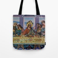political Tote Bags featuring Political Party by Natalie Bessell
