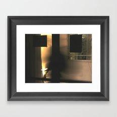 One ghost Framed Art Print
