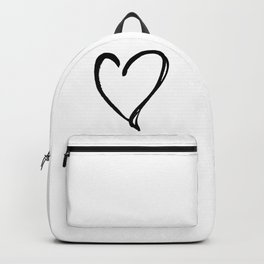 Valentine Heart 31a by Kathy Morton Stanion Backpack