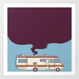 Walter and Jesse's RV Art Print