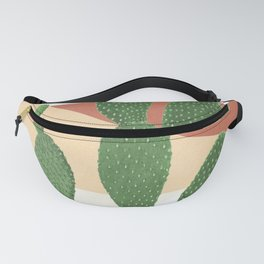 Abstract Cactus II Fanny Pack