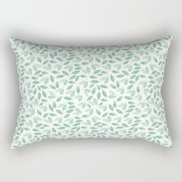 Minimalist Leaves foliage Rectangular Pillow